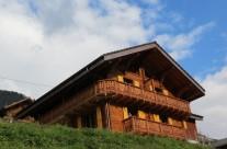 Transformation d'un chalet d'habitation existant à Val d'Illiez