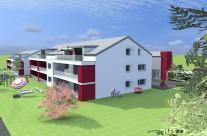Bâtiment collectif – Locatif 8 appartements à St-Urs
