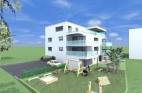 Bâtiment collectif – Locatif 6 appartements à Domdidier