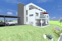Habitation individuelle de 3 appartements à Domdidier – Chavouna